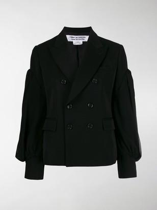 Comme des Garçons Comme des Garçons Fitted Double-Breasted Jacket