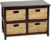 Asstd National Brand Seabrook 2-Tier Storage Accent Cabinet