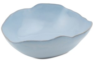Thirstystone Asymmetrical Blue Glazed Ceramic Bowl