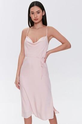 Forever 21 Cowl Cami Dress