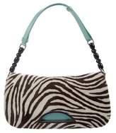 Christian Dior Pony Hair Malice Shoulder Bag