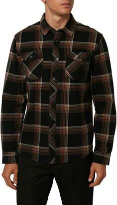 O'Neill Ventura Plaid Flannel Button-Up Shirt
