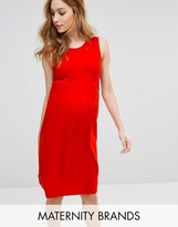 Isabella Oliver Sleeveless Midi Dress