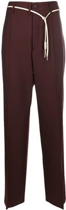 Marni Tailored Straight-Leg Trousers