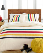 Pendleton Flannel Glacier Queen Duvet Cover