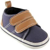 Luvable Friends Canvas Hook & Loop Boys Shoes Canvas Shoes