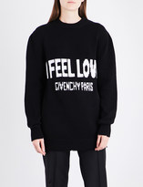 Givenchy I Feel Love cotton jumper
