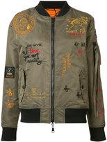 Haculla - reversible embroidered bomber jacket - women - Nylon - S