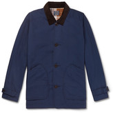 J.crew - Barn Corduroy-trimmed Cotton Field Jacket