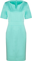 Hugo Light Pastel Green Cotton Kenina Dress