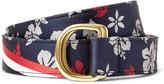 Thom Browne - 3cm Floral-patterned Silk-jacquard Belt