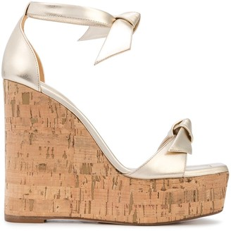 Alexandre Birman Wedge Heel Sandals