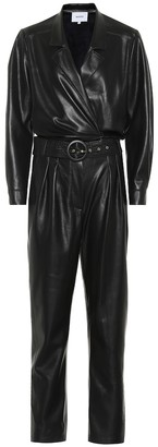 Nanushka Exclusive to Mytheresa Rocha faux leather jumpsuit