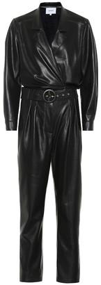 Nanushka Exclusive to Mytheresa Rocha faux leather jumpsuit
