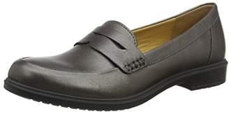 Hotter Women's Dorset Boat Shoes, Grey (Gunmetal Metallic 141), (38.5 EU)