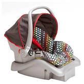Cosco Light N Comfy DX Infant Car Seat - Rainbow Dots