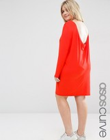Asos Mini Dress with Cowl Back