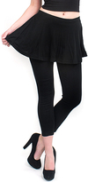 Magid Black Flare Skirt Leggings - Plus Too
