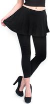 Magid Black Flare Skirt Leggings