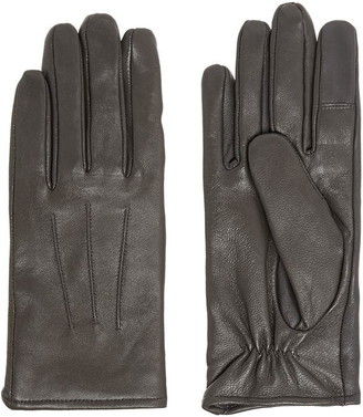 Isotoner 3 Point Smart Leather Glove