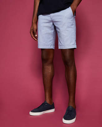 Ted Baker GATMOO Textured Printed Spot Short
