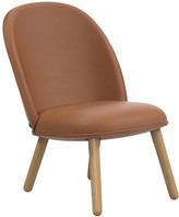 Normann Copenhagen Ace Lounge Chair Tango Leather - Brandy