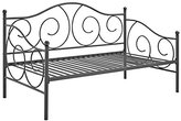 DHP Victoria Twin Size Metal Daybed, Dark Gray