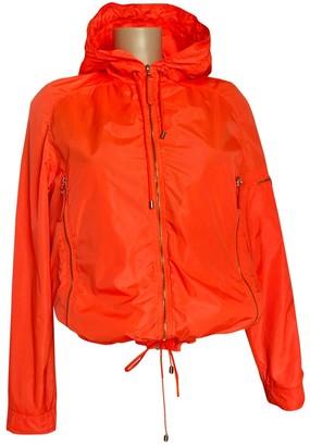 Chanel Orange Synthetic Leather jackets