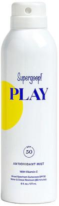 Supergoop! PLAY Antioxidant Body Mist SPF 50 6oz.