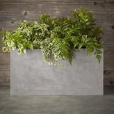 Williams-Sonoma Williams Sonoma Newport Concrete Double Planter