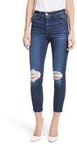 L'Agence Women's Abigail French Slim Ripped Skinny Jeans