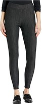 Fresh Produce Freshfit Solid Pull-On Pants in Stretch Knit Denim (Black) Women's Casual Pants