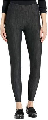 Fresh Produce Freshfit Solid Pull-On Pants in Stretch Knit Denim (Black) Women's Casual Pants