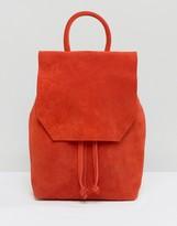 Asos Mini Suede Backpack