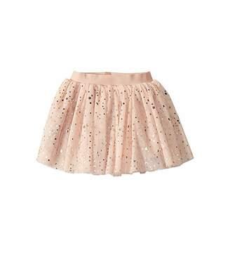 HUXBABY Gold Star Tulle Skirt (Infant/Toddler)
