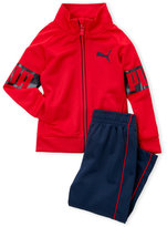 Puma Toddler Boys) Two-Piece Tricot Jacket & Pants Set