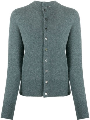 Extreme Cashmere Fitted Cardigan
