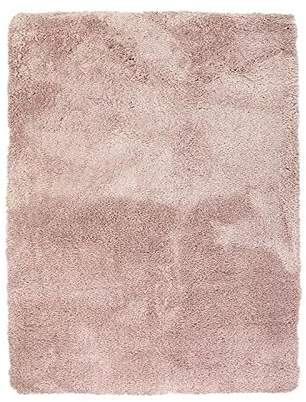 Camilla And Marc Thedecofactory Mat Extra Soft, Polyester, Powder Pink, 170 x 120 x 2 cm