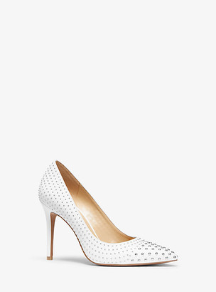 Michael Kors Claire Studded Leather Pump