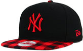 New Era New York Yankees Premium Plaid 9FIFTY Snapback Cap