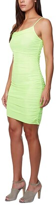 Bebe Power Mesh Mini Dress