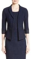 St. John Women's Newport Knit Diamond Dot Jacket