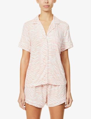 Rails Nessa striped stretch-jersey pyjama set