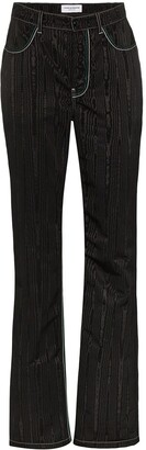 Marine Serre Tonal Pattern Trousers