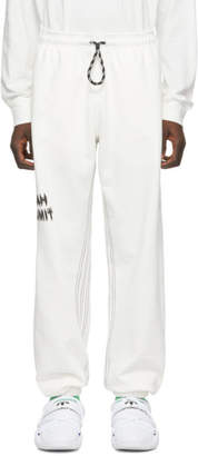 adidas By Alexander Wang by Alexander Wang White You For E Yeah Exceed The Limit Lounge Pants