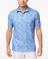 Tasso Elba Men's Leaf and Dot Print Polo, Created for Macy's