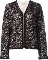 Lanvin floral lace jacket - women - Polyamide/Acetate/Cupro/Viscose - 36