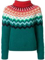 Anya Hindmarch Women's Green Wool Sweater.