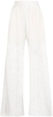 MM6 MAISON MARGIELA Lace Sheer Trousers