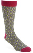 Ted Baker Men's Norzec Geometric Sock